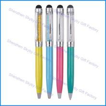 Twist Stylus Roller Metal ball Point Pen