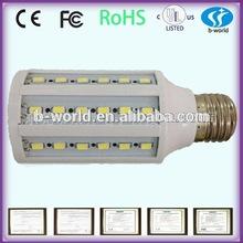 360 degree Emitting High output E27/E14 15w led corn light