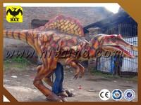 2014 amazing dinosaur costume from zigong HLT dinosaur costume manufacture