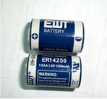 rechargeable cells er14250h 3.6v lithium battery 1/2aa er14250
