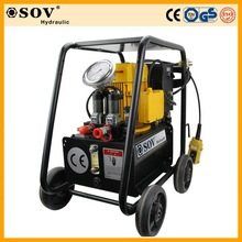 High Quality Two Stage Double Acting Electric Hydraulic Pump