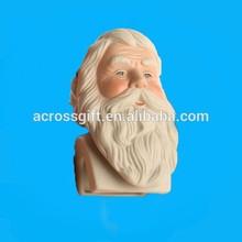top grade porcelain santa heads