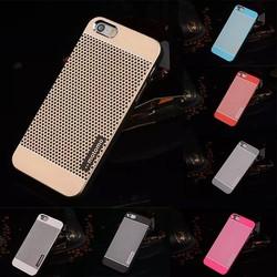 MOTOMO Metal Aluminum Brushed Dot Skin Back Case Cover For iPhone 6 4.7