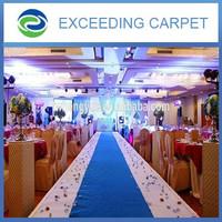 Commercial pvc foam backing polyester carpet/rug