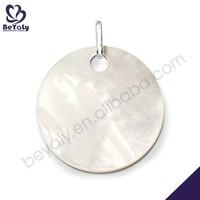 Round shape 925 silver plate california wholesale jewelry