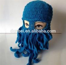 Handmade knit animal hat