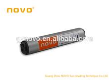 Guangzhou NOVO aluminum venetian blinds parts / aluminium slats for venetian blinds