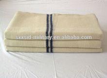 ISO cheap 100% wool army blanket military 100% wool blanket