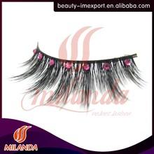 diamond mink fur eyelashes eyelash clamp