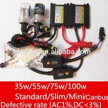 12V 35W 55W Car H7 HID Conversion Kit,H7 xenon headlights