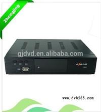 Satellite and internet tv receiver decoder tv receiver antenna