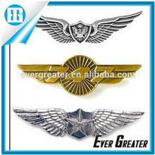 custom metal pilot wings pin badge