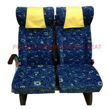Luxury fabric van seat