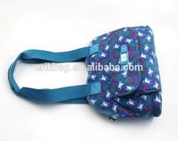 Fashion lady messenger bag,2014 beauty lady handbag,hot sale polyester lady tote bag