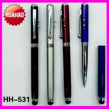 HH-5669 Logo OEM pen light laser pen with LED