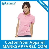 high quality polo shirt design printing for women