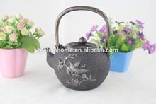 Antique design brass plating die-casting metal tea pot