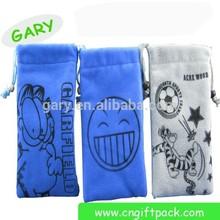 custom personalized pouch velvet packaging gift bag