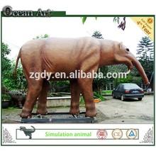 2014 entertainment park equipment simulation life size fiberglass animal
