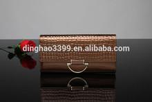 Custom made factory direct sale brown wallet leather clutch men/women