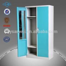 top design livingroom metal wardrobe metal cabinet