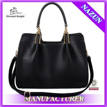 Online shopping ladies cow leather handbag wholesale bags in china