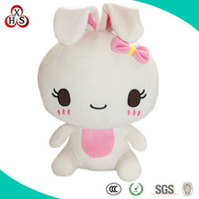 Customed Oem Soft Stuffed High Quality teddy rabbit for girls gift
