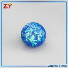 Diamond Cut Round Opal 3mm-15mm