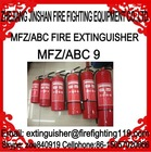 The most reliable and honest manufacture for 9kg 20%-80% ABC dry powder fire extinguisher