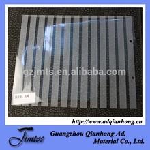 waterproof glossy inkjet pvc decorative glass film
