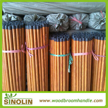 good quality 120cm pvc coated wooden broom sticks