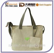 Fashion lady cotton canvas tote bag canvas tote bag
