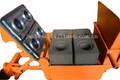 Manual de terra comprimida máquina do bloco manual de bloqueio da máquina de tijolo manual e cinzas tijolo que faz a máquina qmr2-40