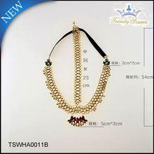 Professional Jewelry Factory Supply Elegant latest girls hair accessories glitter