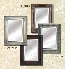 Vintage hanging mirror frame wood framed mirror arts
