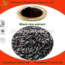 High antioxidant black rice anthocyanin extract