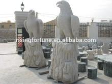 Big stone eagle statue