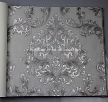 new catalog of 2014 pvc deep embossed wallpaper Italian style Alpha 80101 waterproof soundproof