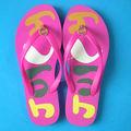 Chaussure chausson/nu. pantoufle massage/lady slipper