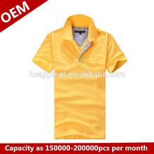 Hot selling free sample polo shirt men's shirts OEM
