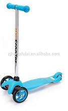 PU wheel plastic body kit scooter