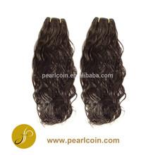Synthetic Japanese Kanekalon Toyokalon Fiber Hair Italian Wave Weaving Weft Extension