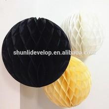 halloween party decor cheap honeycomb paper craft