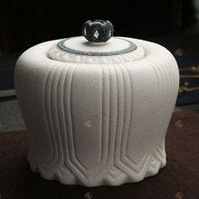 TG-401J137-W-M glass food jar 1208 for wholesales temple jar