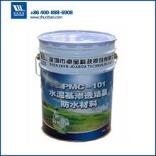 water based concrete quick sealing waterproofing coating