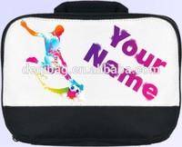 SOCCER FOOTBALL PERSONALISED SCHOOL / NURSERY / LUNCH BOX / SANDWICH BAG *NAMED*