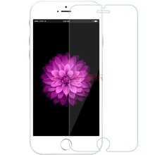 for iphone 6 plus screen protector,scratch resistant tempered glass screen protector with 2 pcs free home button sticker