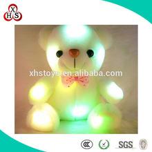 2015 OEM Cute High Quality Light Up Teddy Bear Plush Toy
