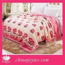Queen Size Korean Mink Blankets, Soft and Heavy Wholesale Fleece Blankets