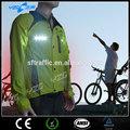 Invierno a prueba de agua LED ropa ciclismo